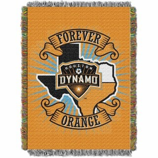 MLS 051 Houston Dynamo Handmade Throw