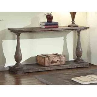 Elegant Best Master Furniture Rustic Sofa Table   Free Shipping Today    Overstock.com   18941277
