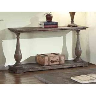 Best Master Furniture Rustic Sofa Table