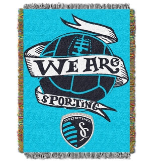 MLS 051 Kansas City Sporting Handmade Throw