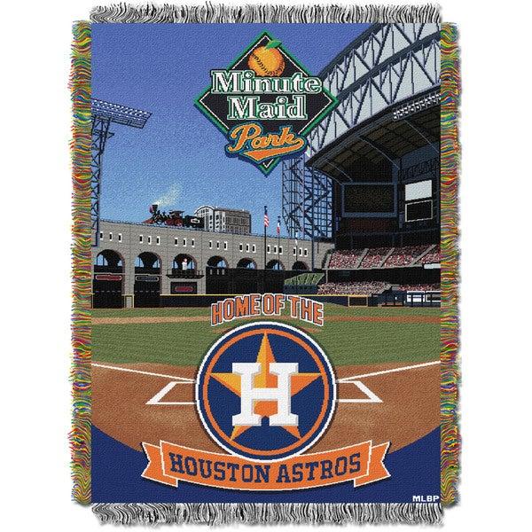MLB 051 Astros Minutemaid Park Stadium Throw