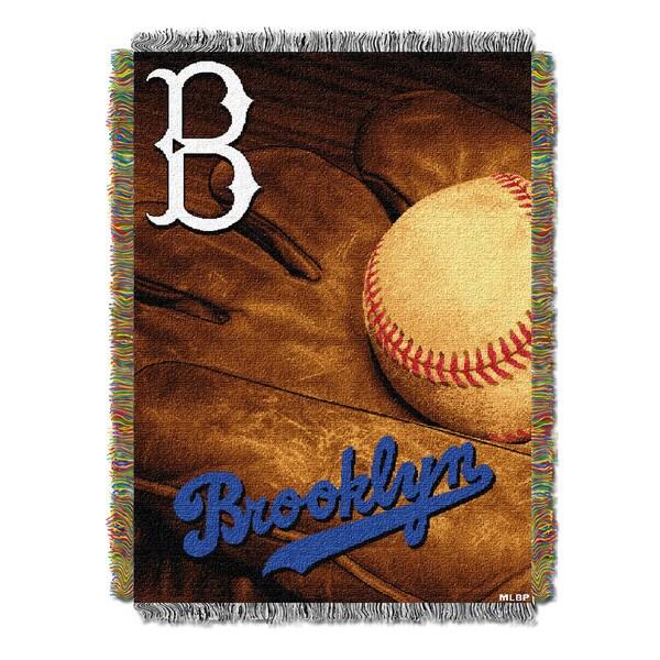 MLB 051 Dodgers Vintage Throw