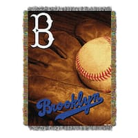 MLB 051 Dodgers Vintage Throw