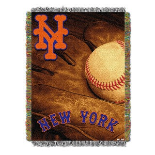 MLB 051 Mets Vintage Throw