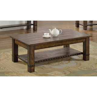 Best Master Furniture Wood Coffee Table