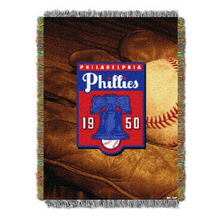 MLB 051 Phillies Vintage Throw