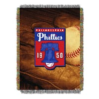 MLB 051 Phillies Vintage Throw