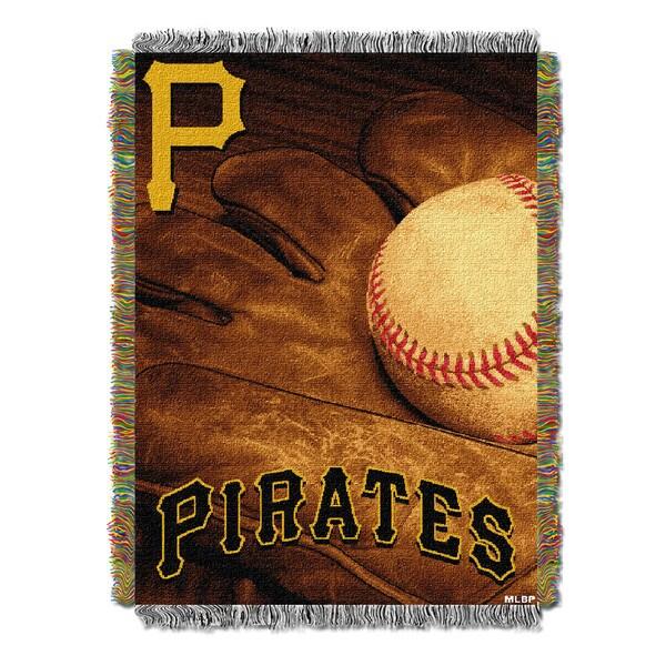 MLB 051 Pirates Vintage Throw