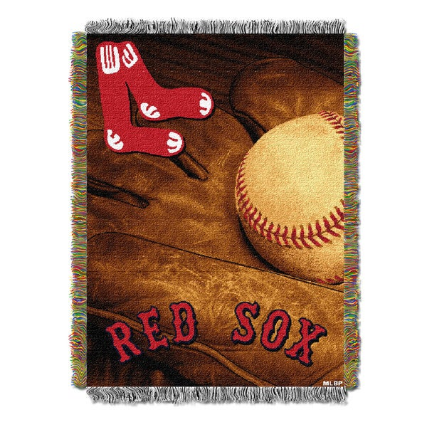 MLB 051 Red Sox Vintage Throw