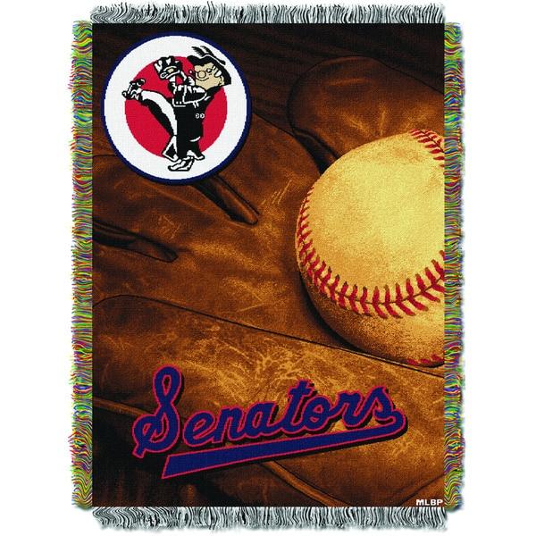MLB 051 Senators Vintage Throw