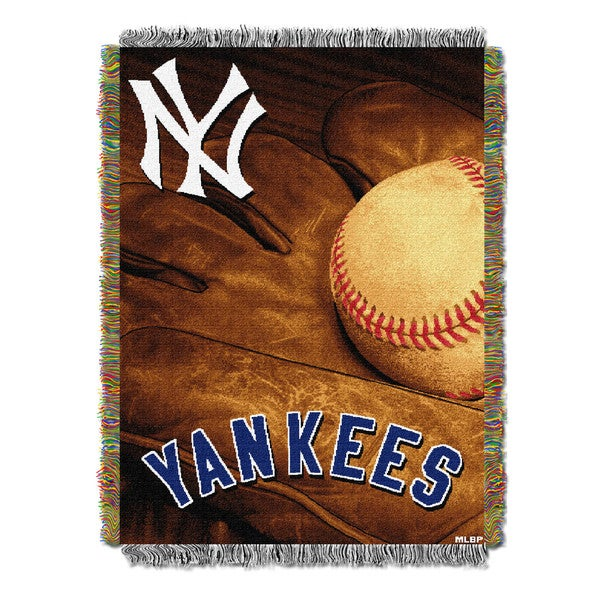 MLB 051 Yankees Vintage Throw