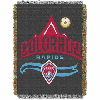 MLS 051 Colorado Rapids Handmade Throw