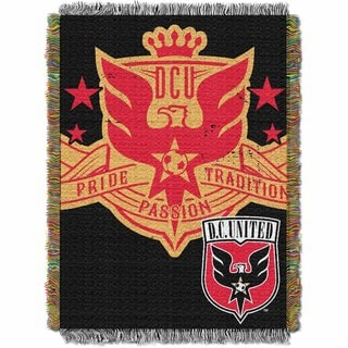 MLS 051 DC United Handmade Throw