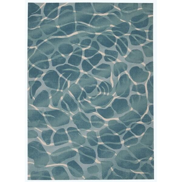 Nourison Coastal Aqua Area Rug 7 9 X 10 10 18941342