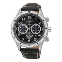 Seiko Men's SRW037 Chronograph Stainless Steel Watch