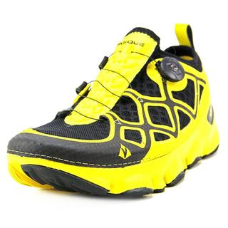 Vasque Men's Ultra SST Trail Runner Yellow Synthetic Athletic Sneakers