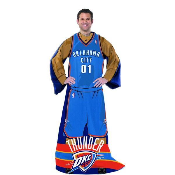 NBA 024 Thunder Uniform Comfy Throw