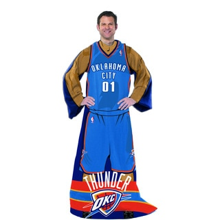 NBA 024 Thunder Uniform Comfy Throw