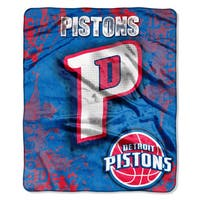 NBA 702 Pistons Dropdown Raschel Throw