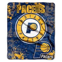 NBA 702 Pacers Dropdown Raschel Throw