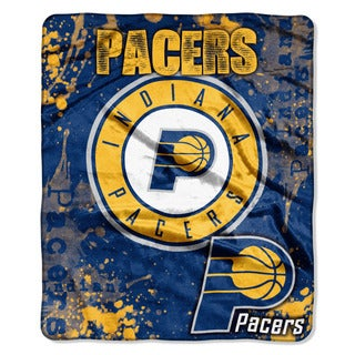 NBA 702 Pacers Dropdown Raschel Throw