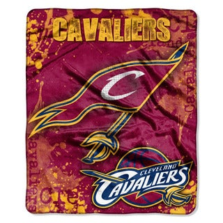NBA 702 Cavaliers Dropdown Raschel Throw