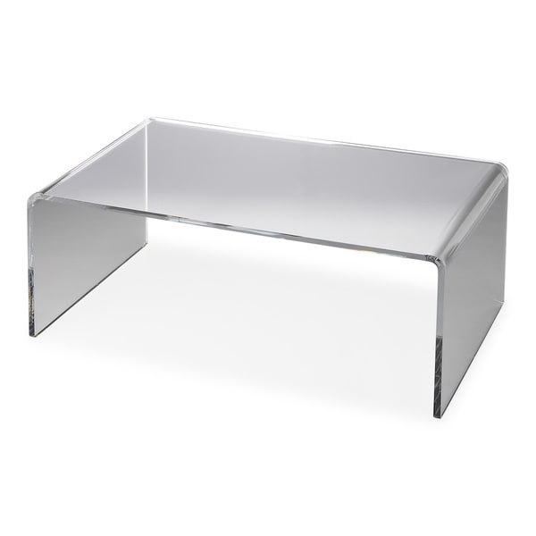 Https Www Overstock Com Worldstock Fair Trade Butler Crystal Clear Acrylic Cocktail Table 12074516 Product Html