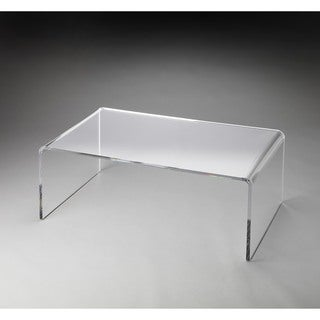 Butler Crystal Clear Acrylic Cocktail Table