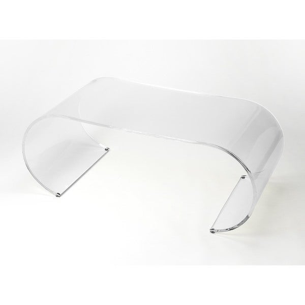 Butler Milan Arched Acrylic Cocktail Table