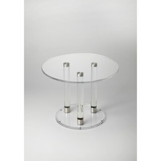 Butler Landis Clear Acrylic Bunching Cocktail Table