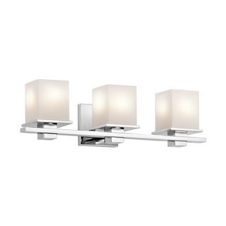 Kichler Lighting Tully Collection 3-light Chrome Bath/Vanity Light