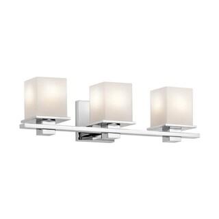 Nice Kichler Lighting Tully Collection 3 Light Chrome Bath/Vanity Light