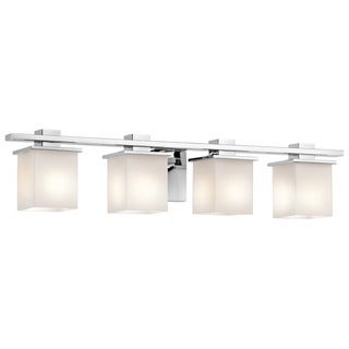 Kichler Lighting Tully Collection 4-light Chrome Bath/Vanity Light