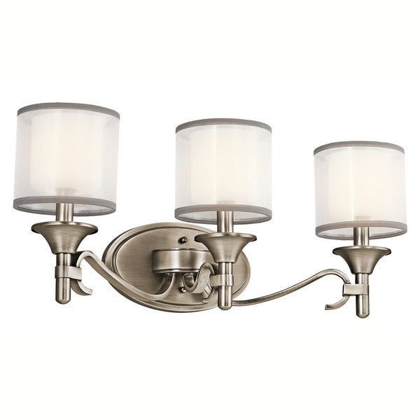 Kichner Lighting: Shop Kichler Lighting Tully Collection 3-light Antique