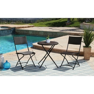 ABBYSON LIVING Bridgette Outdoor 3-piece Bistro Set