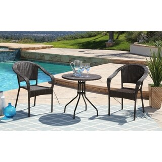 ABBYSON LIVING Odette 3-piece Outdoor Bistro Set