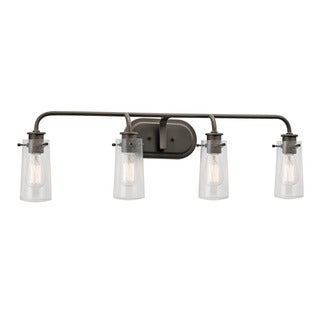 Kichler Lighting Braelyn Collection 4-light Olde Bronze Bath/Vanity Light