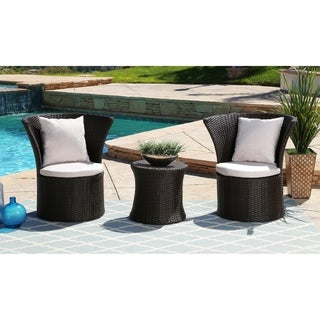 ABBYSON LIVING Cameron Outdoor 3-piece Bistro Set
