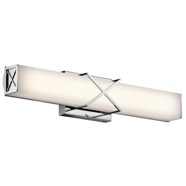 Kichler Lighting Trinsic Collection 2 Light Chrome Led Bath Vanity