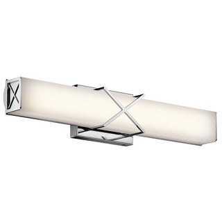 Kichler Lighting Trinsic Collection 2-light Chrome LED Bath/Vanity light