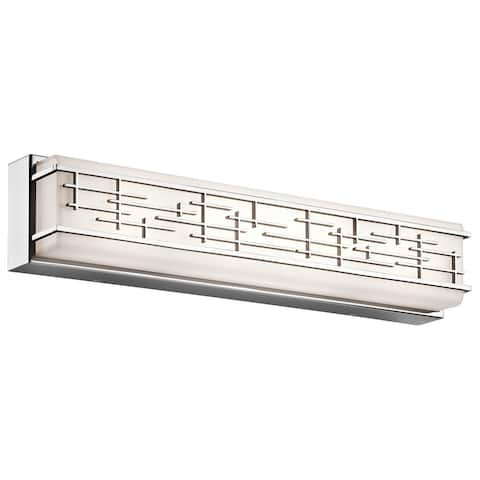 Kichler Lighting Zolon Collection 1-light Chrome LED Bath/Vanity light
