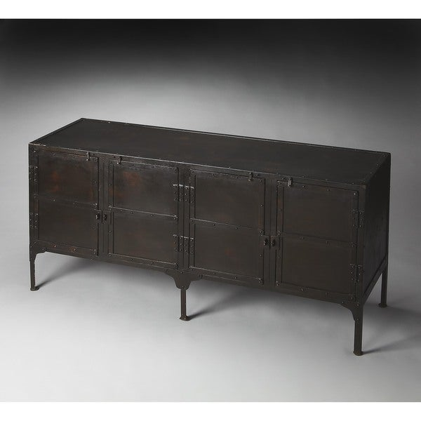Butler Owen Rectangular Chic Console Cabinet Black