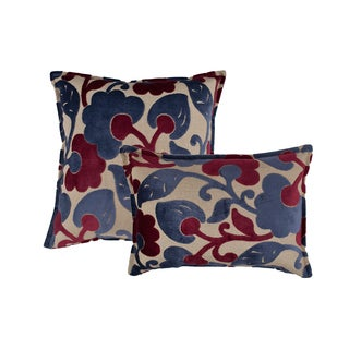 Sherry Kline Bouquet Combo Throw Pillows