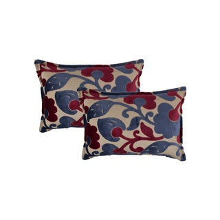 Sherry Kline Bouquet Boudoir Decorative Throw Pillow (set of 2)