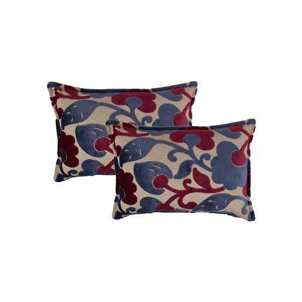 Sherry Kline Bouquet Boudoir Decorative Throw Pillow (set of 2)