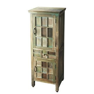 Handmade Butler Artifacts Accent Cabinet (India)