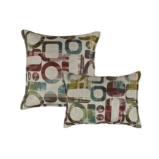 Sherry Kline Metropolis Combo Reversible Throw Pillows