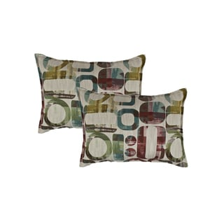 Sherry Kline Metropolis Boudoir Decorative  Throw Pillow (set of 2)