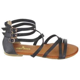 Spirit Moda Women's Flat Sandals