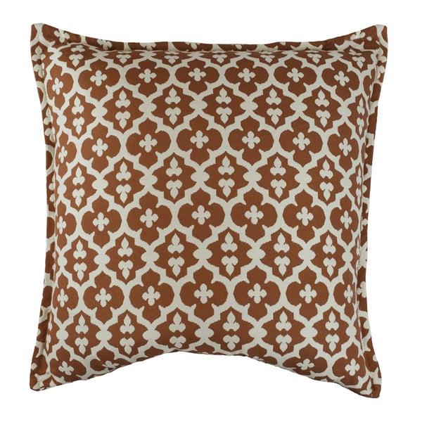 Sherry Kline Constantine Accent 40inch Decorative Throw Pillow Set Unique Peach Decorative Throw Pillows
